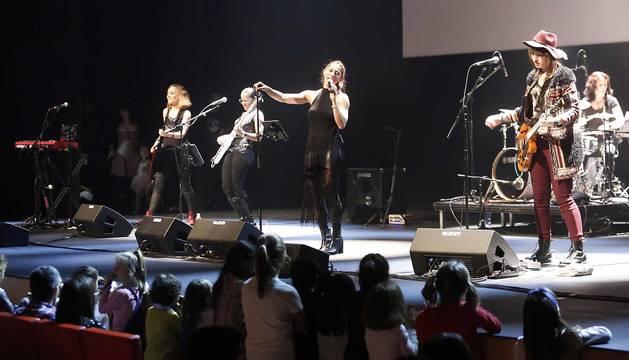 Minimusic rinde tributo al rock femenino en Baluarte