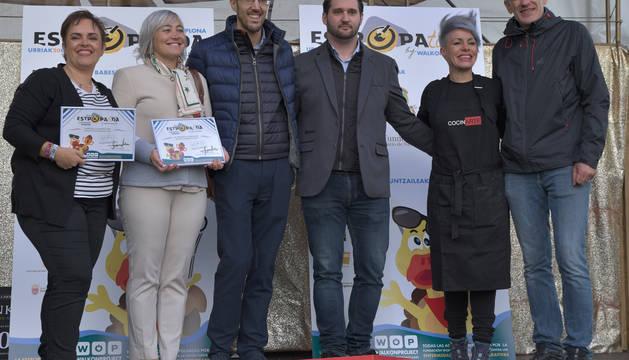 Ainhoa Comerón, María Sagaseta de Ilurdoz, David González, David Tainta, CocinARTE y Mikel Renteria de WOP.