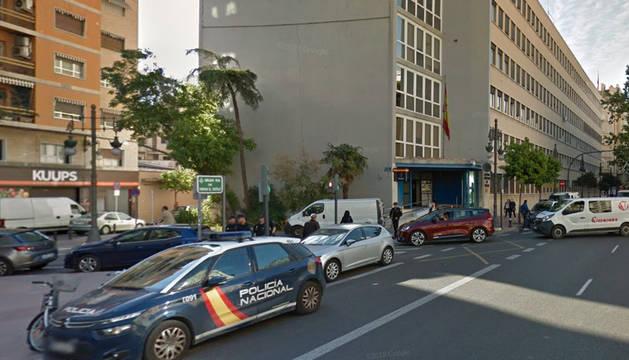 Comisaría de la Policía Nacional en Valencia.