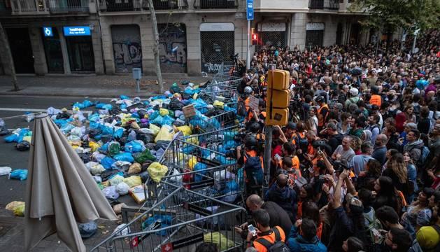 Cerca de 600 heridos, 28 encarcelados y el caos en una semana de protestas