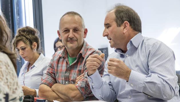 Imagen de David Campión, presidente de la Mancomunidad de la comarca de Pamplona.
