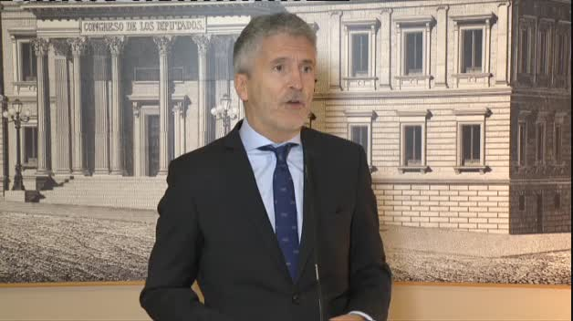 Marlaska asegura que las medidas de seguridad de Sánchez en Barcelona fueron las habituales