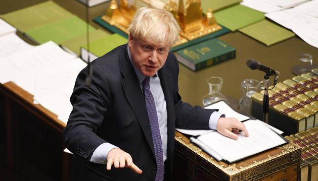 foto de El primer ministro británico, Boris Johnson