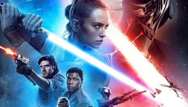 Foto oficial de la nueva película de Star Wars.