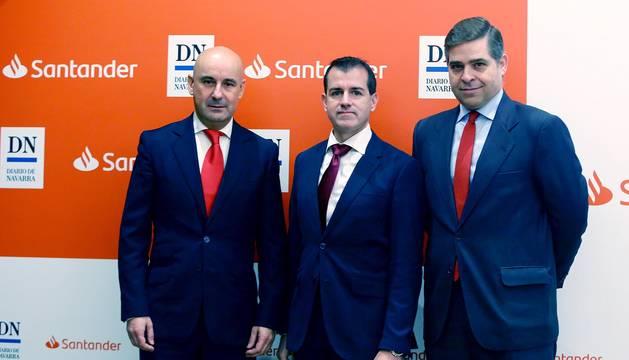 Un centenar de directivos y empresarios asistieron al acto organizado por la entidad financiera y Diario de Navarra.