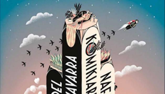 Cartel de la X edición del Salón del Cómic de Navarra.