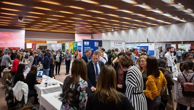 foto de Vista general del salón donde se ha celebrado el Encuentro de Empleo y Emprendimiento