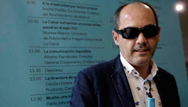 Luis Casado Aguilera, fotografiado este viernes en Pamplona.