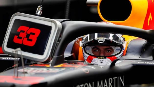 Foto del holandés Max Verstappen, este sábado.