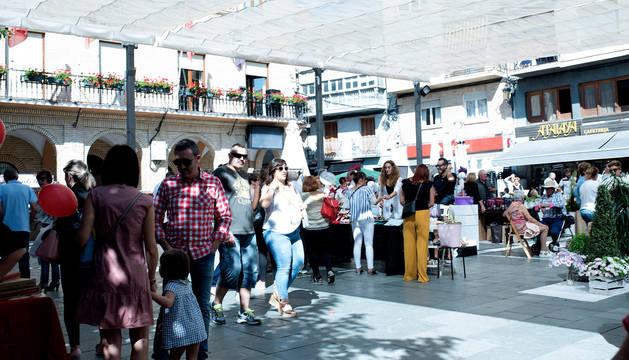 Foto de la I Feria de Comercio y Servicios de Peralta.