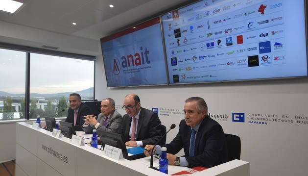 foto de Presentación de ANAIT, Asociación Navarra de Empresas de Ingeniería, Oficinas Técnicas y Servicios Tecnológicos