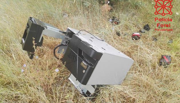 Desmantelado un grupo criminal dedicado a robar máquinas de autocobro en Pamplona