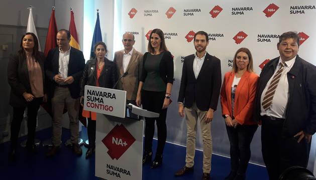 Navarra Suma presenta su campaña para la elecciones generales del 10 de noviembre.