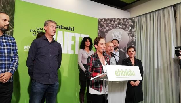 Foto de Bel Pozueta, candidata de EH Bildu por Navarra al Congreso de los Diputados.