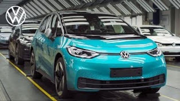 Así se fabrica el ID.3, el coche de la nueva era eléctrica de Volkswagen
