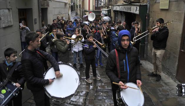 Un grupo de músicos en una edición anterior del programa.