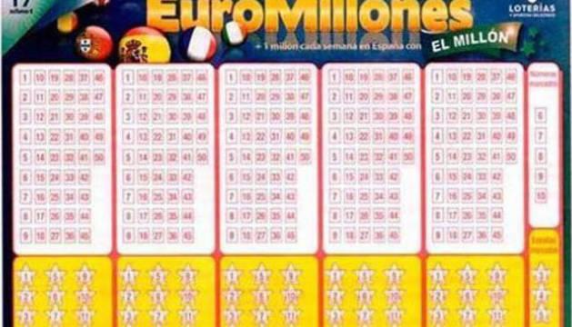 Validado en Pamplona el boleto acertante de El Millón del Euromillón