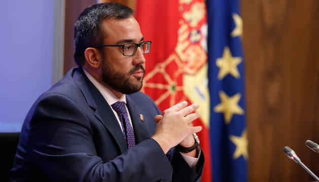 Javier Remírez, portavoz del Gobierno de Navarra.
