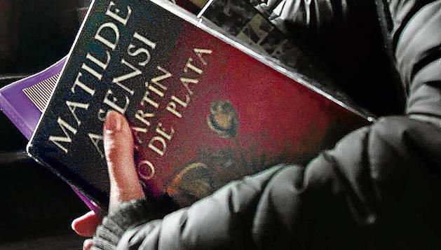 Foto de una agente comercial de Círculo de Lectores.