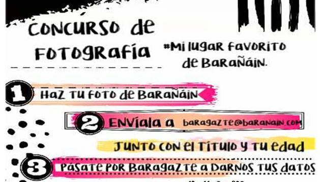 Concurso de fotografía 'Mi lugar favorito de Barañáin', dirigido a jóvenes de 12 a 30 años