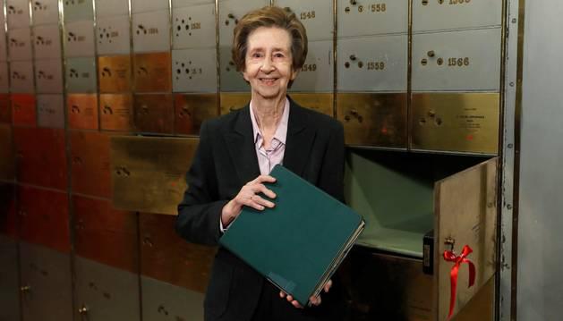 Foto de Margarita Salas, una de las principales referencias de la ciencia española durante los últimas décadas, que ha fallecido hoy a los 80 años.