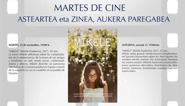 Barañáin alberga en noviembre tres proyecciones de cine documental