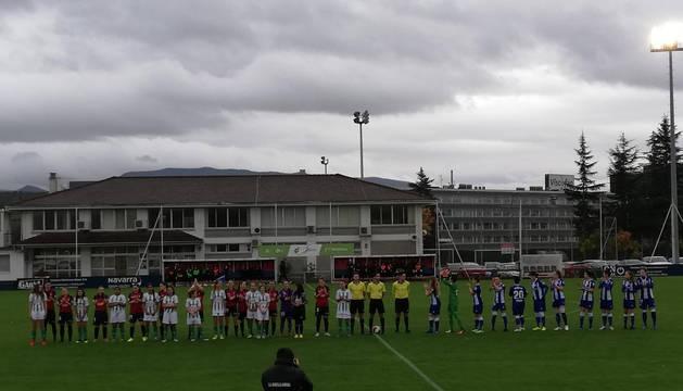 A Osasuna Femenino se le escapa la victoria ante el Alavés, pero no el liderato