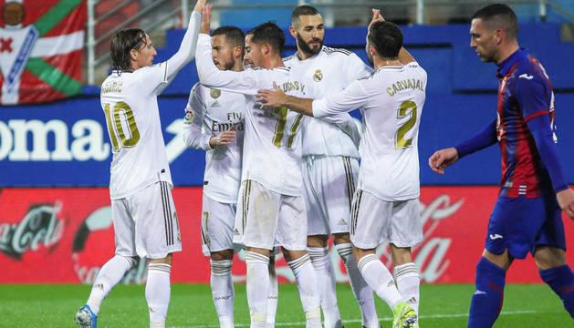 El mejor Real Madrid del año aparece en Ipurua