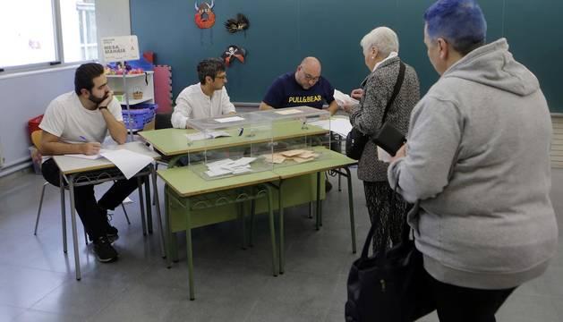 Elecciones del 10 de noviembre en Navarra