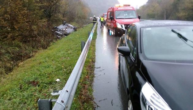 Estado de los vehículos implicados en el accidente.