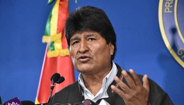 Foto de Evo Morales.