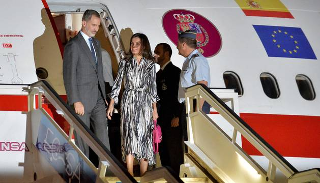 Fotos de la visita de Felipe VI y la renia Letizia a Cuba