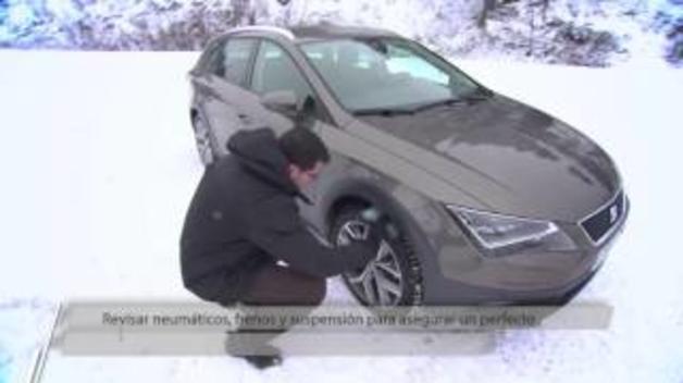 ¿Cómo conducir sobre nieve?