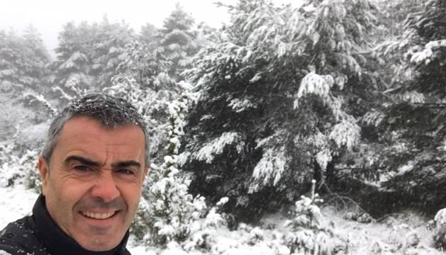 Nieve en Gazteluberri /Castillonuevo.