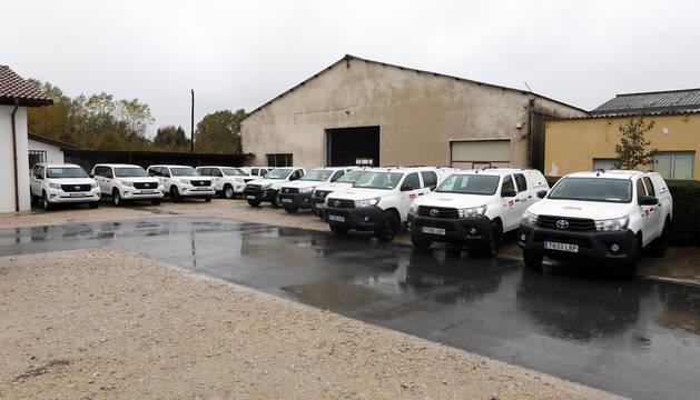 Nuevos vehículos de Guarderío Forestal.