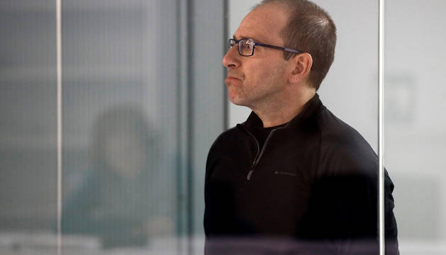 El etarra Alberto Ilundain, durante el juicio.