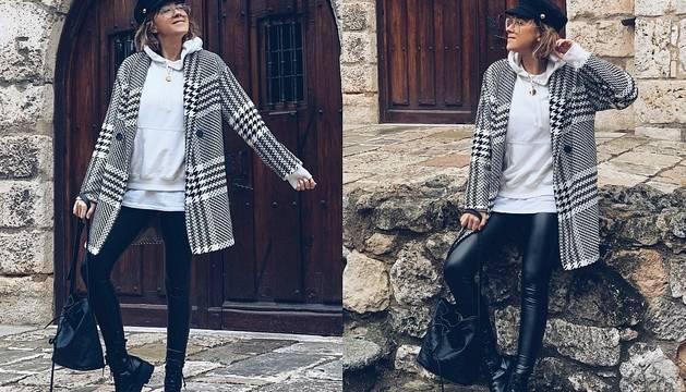 El 'look' perfecto para días de lluvia de Ane Hernando.
