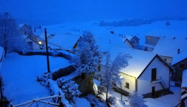 ¿Te ha tocado ver hoy nieve en Navarra? ¿Nos mandas una foto?