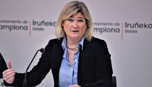 Foto de la concejala delegada de Cultura e Igualdad, María García-Barberena, esta semana.