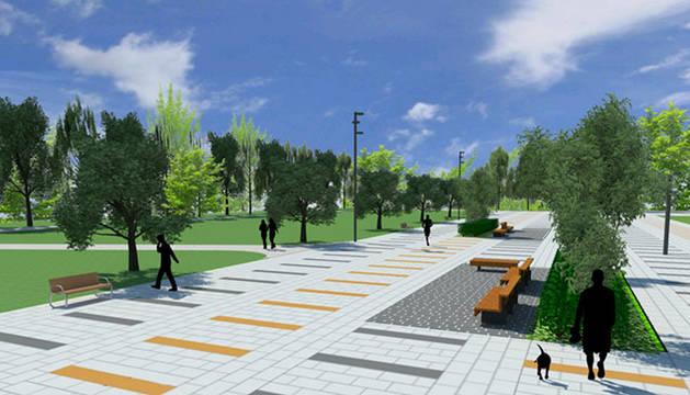 Este desarrollo urbanístico supondrá la creación de una gran plaza de más de 5.000 m2 y un bulevar