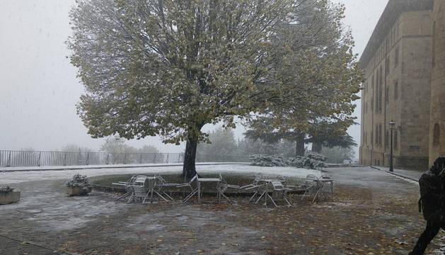 Nieve en Leire.