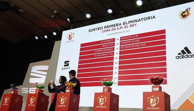 La Peña Azagresa se enfrentará al Celta de Vigo en la Copa del Rey