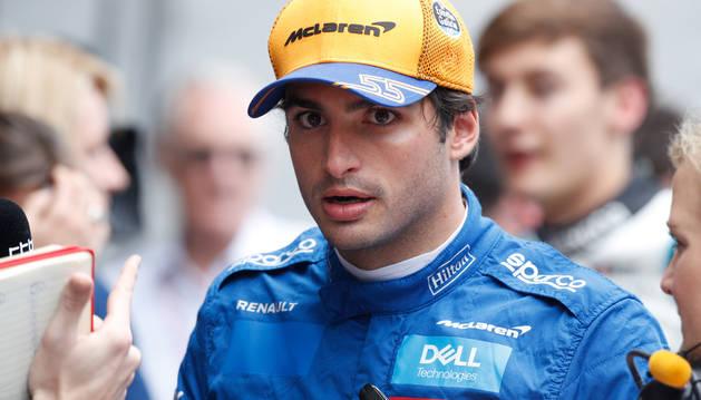 Carlos Sainz consigue su primer podio en la Fórmula 1