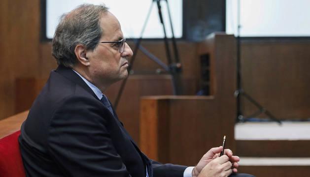 La defensa de Torra pide la nulidad de la causa o que se suspenda el juicio