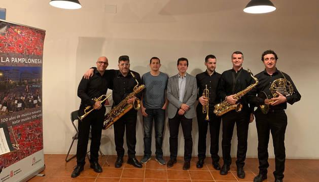 Los 13 conciertos de La Pamplonesa en casas navarras suman 1.300 asistentes