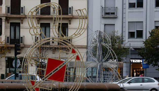 Merindades será uno de los puntos de la ciudad donde luzcan las nuevas creaciones navideñas de este año.