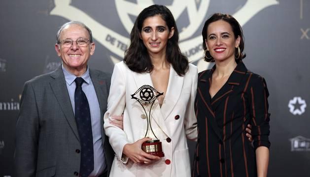 'La casa de papel' arrasa en los XXI Premios Iris de la Televisión