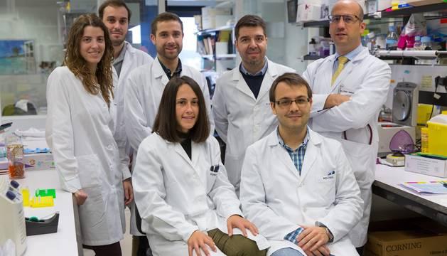 Los investigadores del Cima y la Clínica Universidad de Navarra pertenecientes a la línea de uso deorganoides