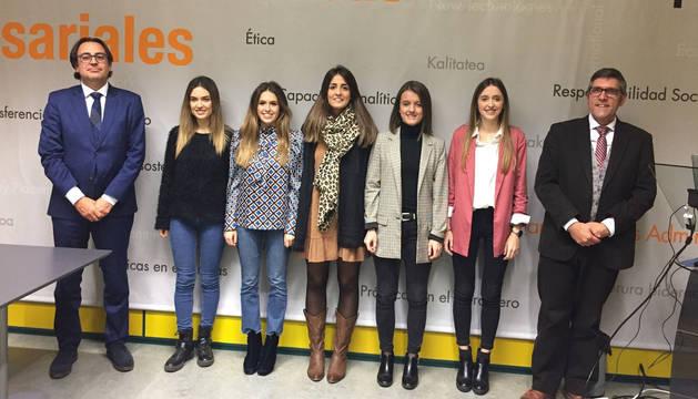 Amaia Zugasti gana el II Premio del Colegio de Economistas de Navarra