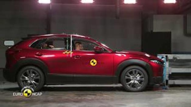 El Mazda CX-30, en las pruebas de choque del EuroNCAP